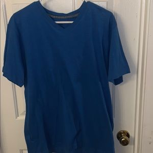 Blue short sleeve tee